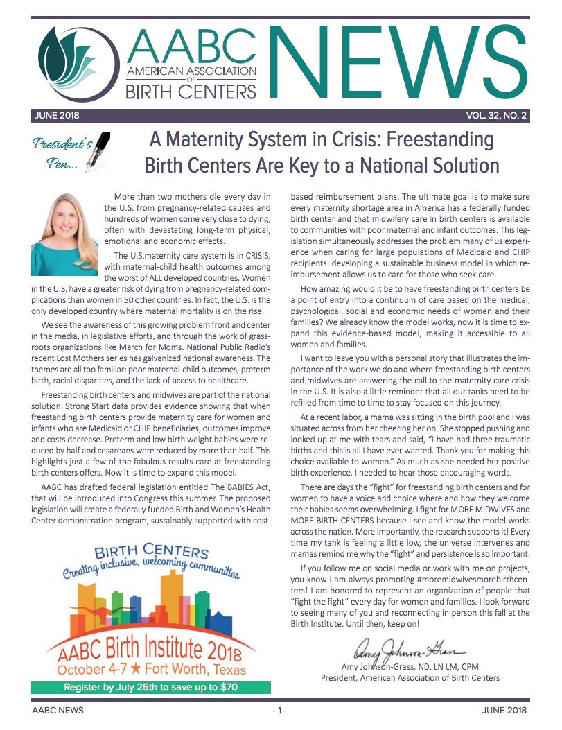 AABC Newsletter - June 2018