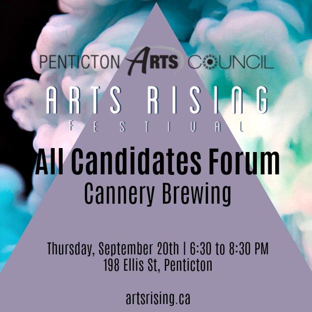 Arts Rising All Candidates Forum