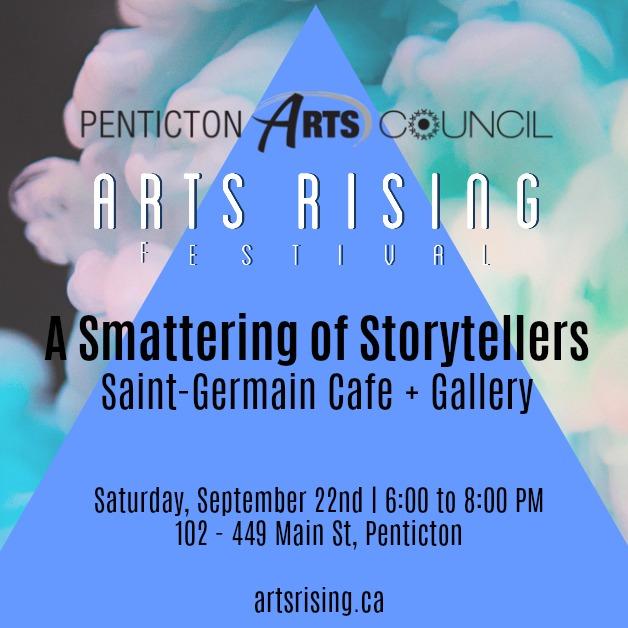 Arts Rising A Smattering of Storytellers