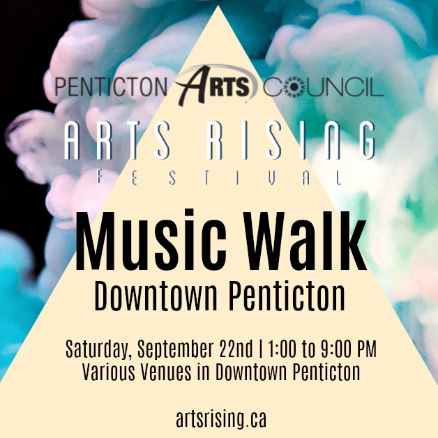 Arts Rising Music Walk