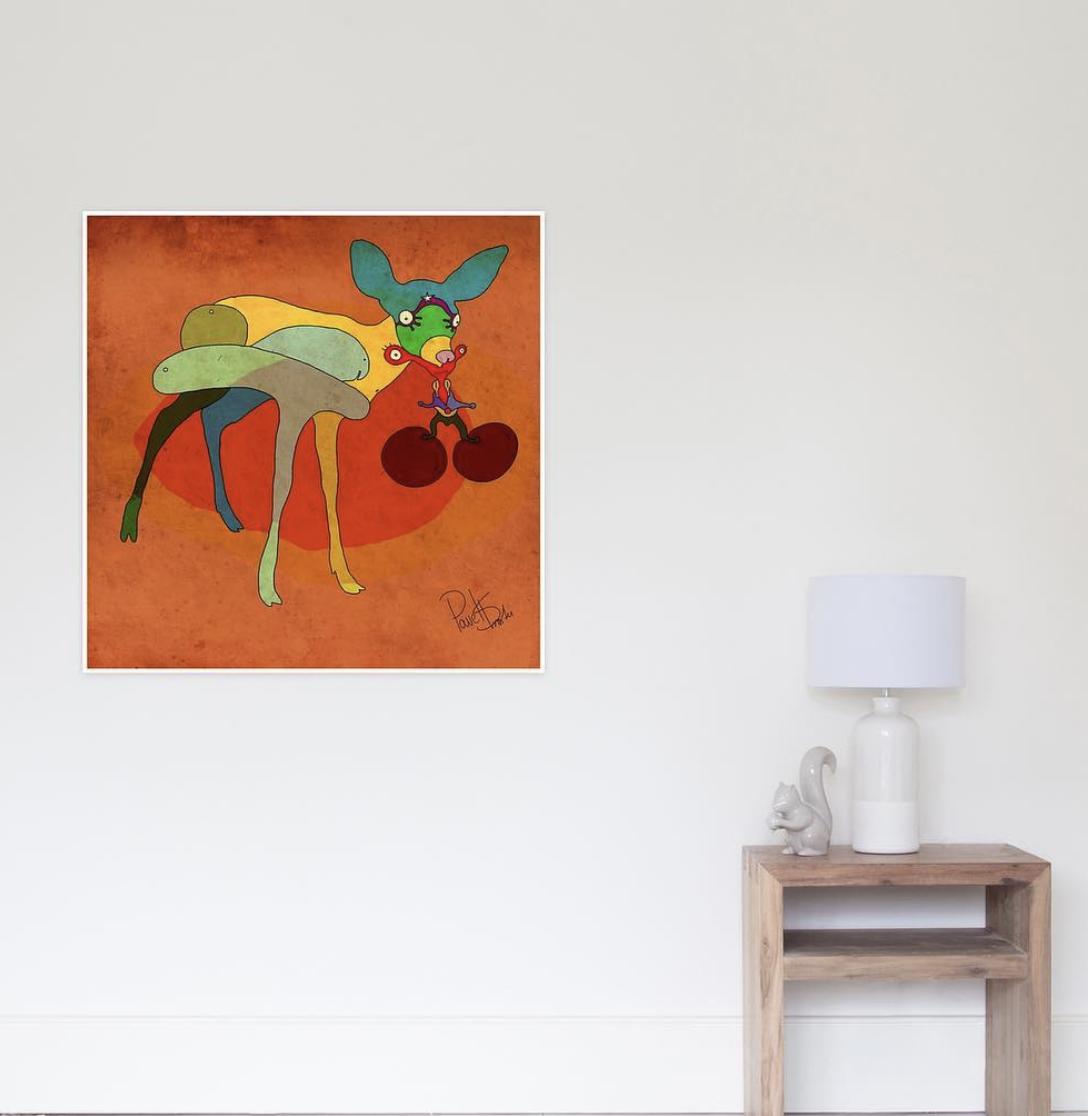 """""""Deer Cherry"""" -"""