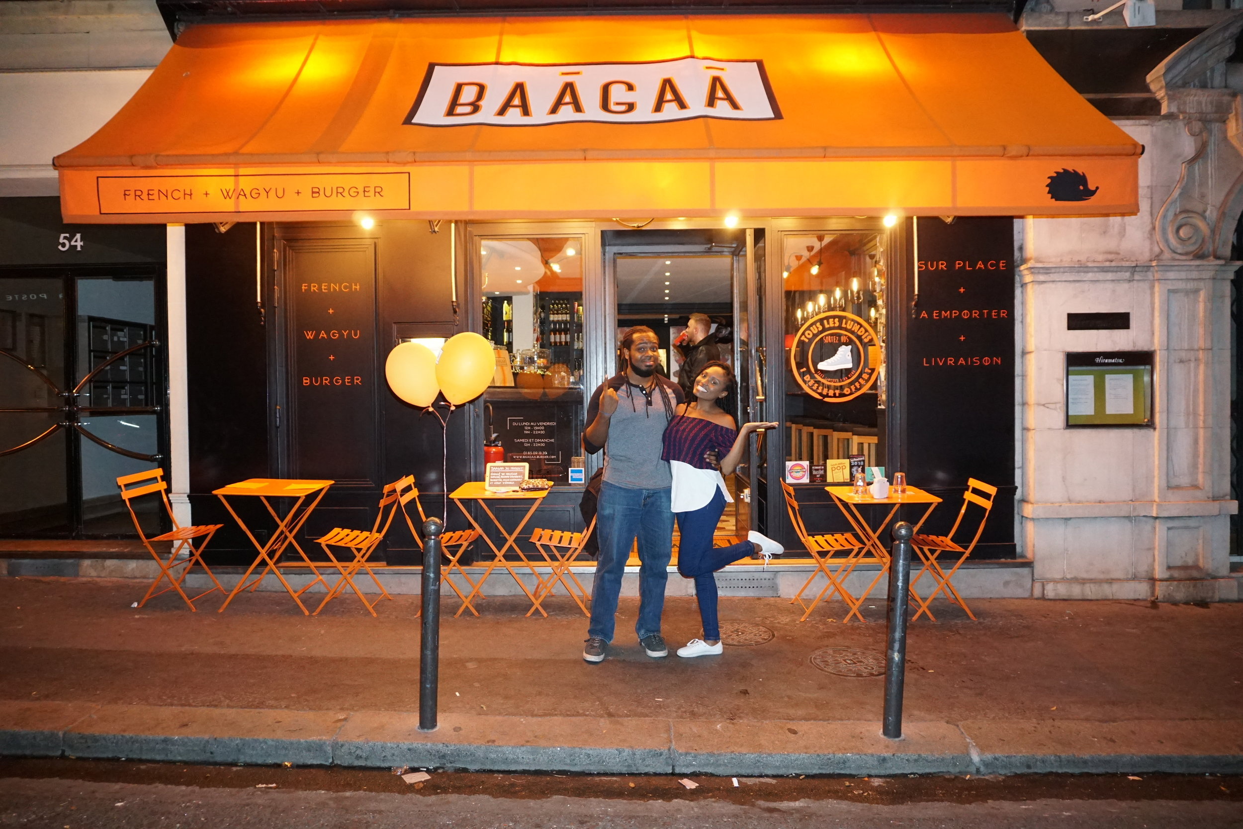 We smelled delicious burgers before we could see the restaurant. We were sold! - We ended up there and we were so happy with our choice. It was called Baagaa and boy was it delicious. I highly recommend visiting.