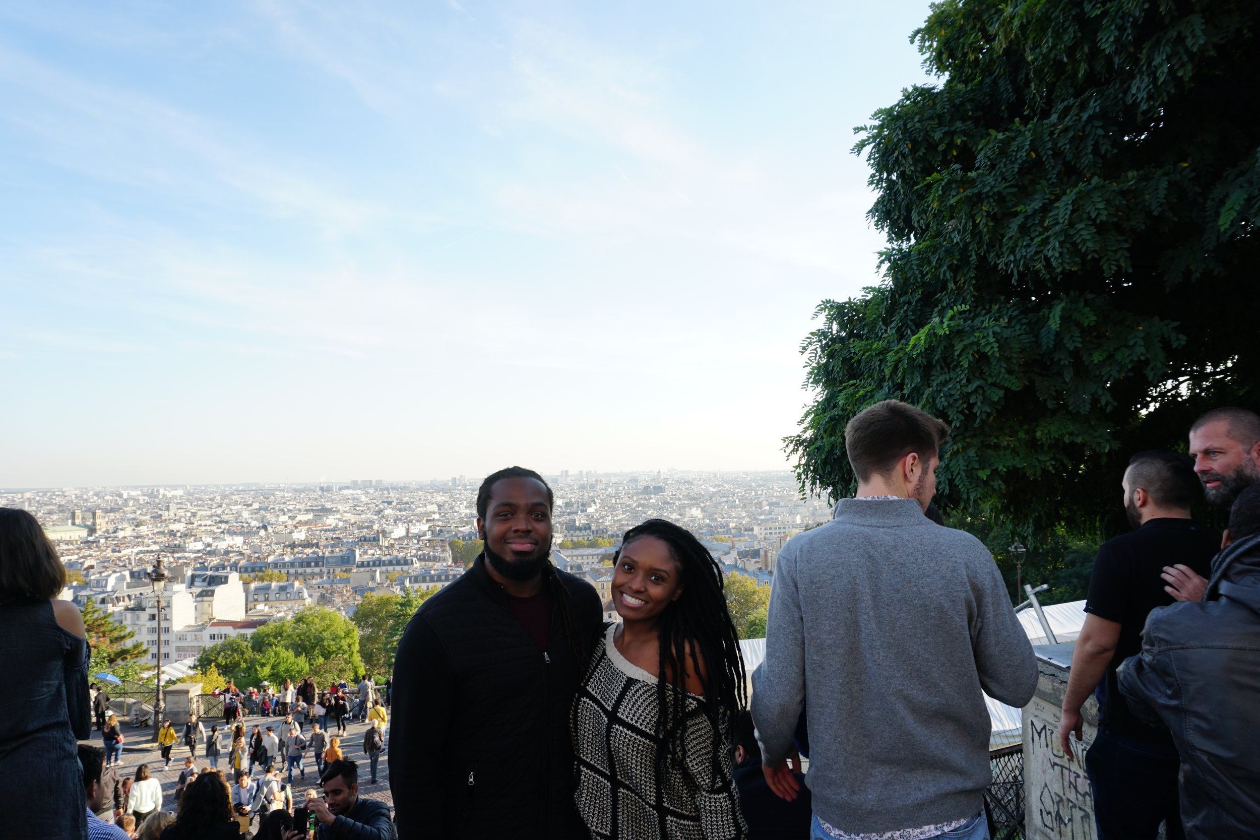 Sacré-Cœur,It is a great spot to relax at as it is the highest point in the city with a vast, beautiful view. -