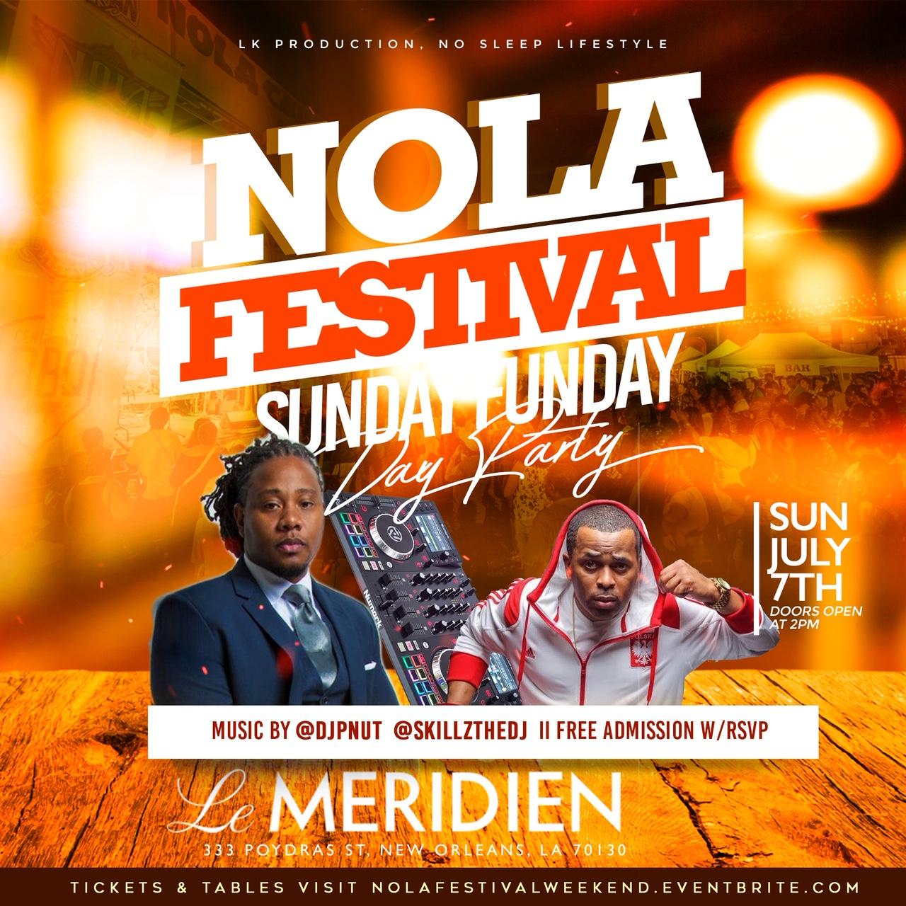 NOLA Festival Sunday Day Party