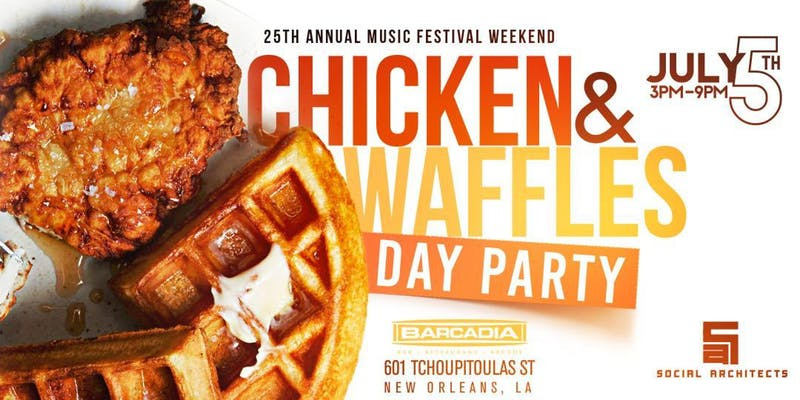 Chicken and Waffles Day Party