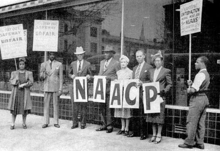 About THE NAACP - The vision of the National Association for the Advancement of Colored People is to ensure a society in which all individuals have equal rights without discrimination based on race.