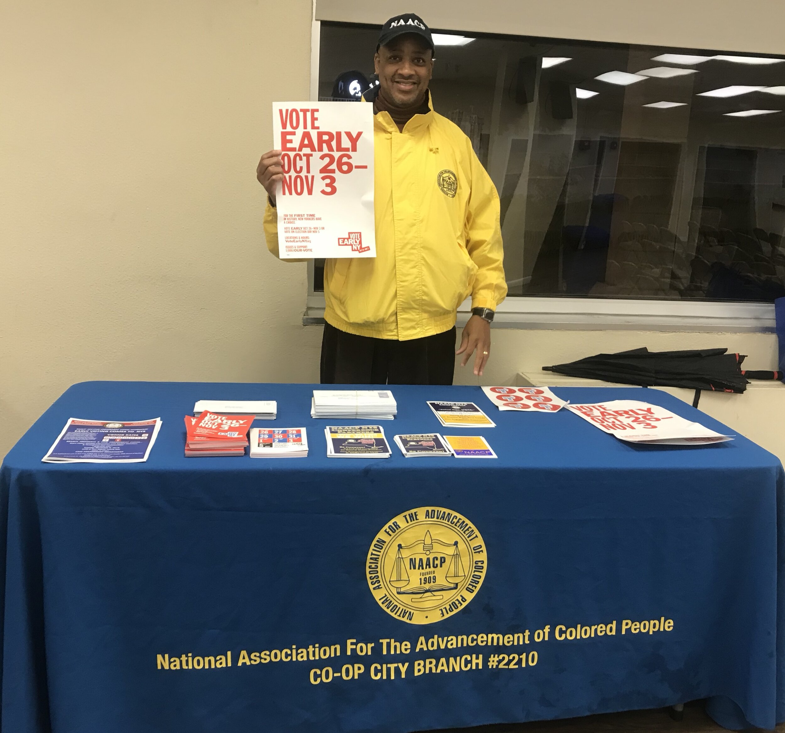 Jerome Rice, President NAACP CO-OP City