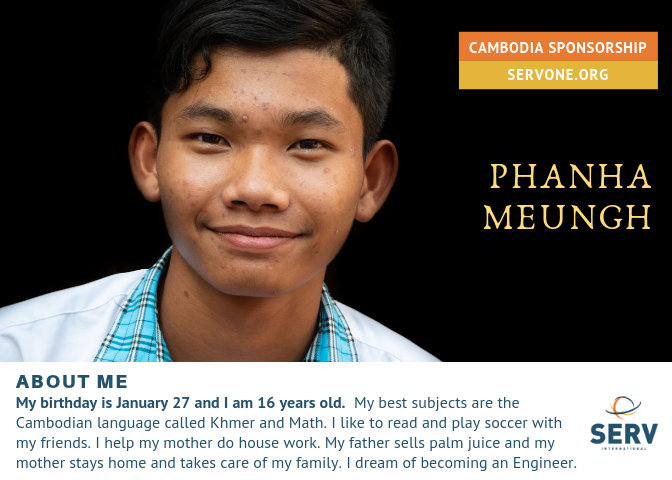 PHANHA IS FULLY SPONSORED.