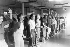 Self-defense class, 1981