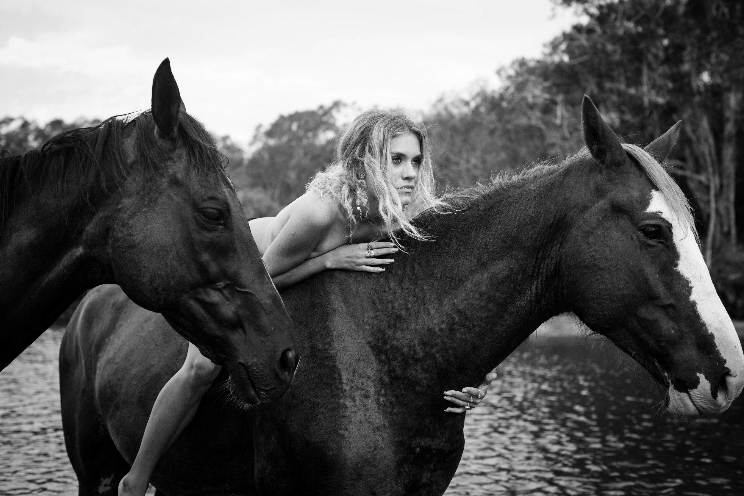 Byron Bay Boudoir Portrait Photography Horses.jpg