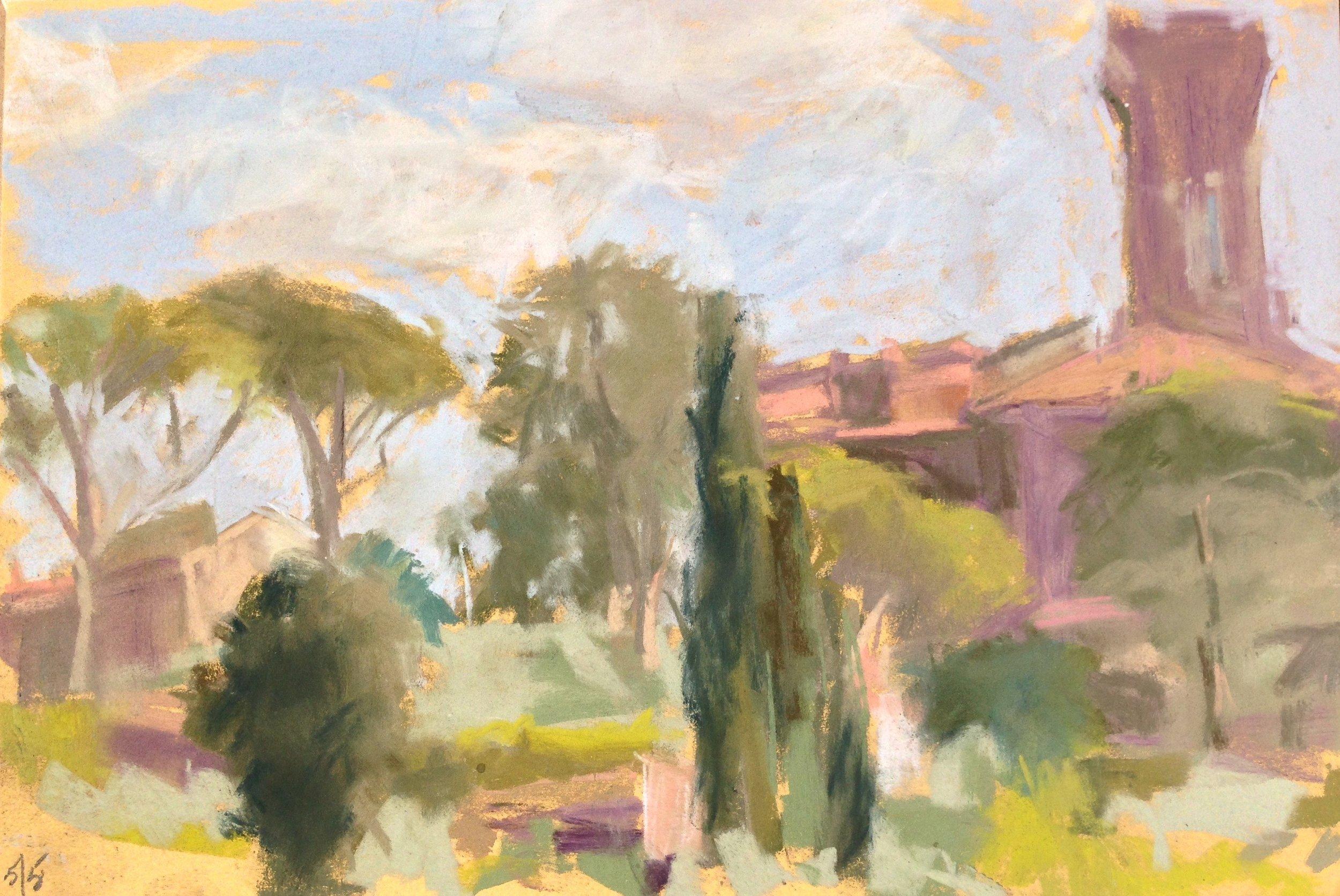 Settignano Hillside, May