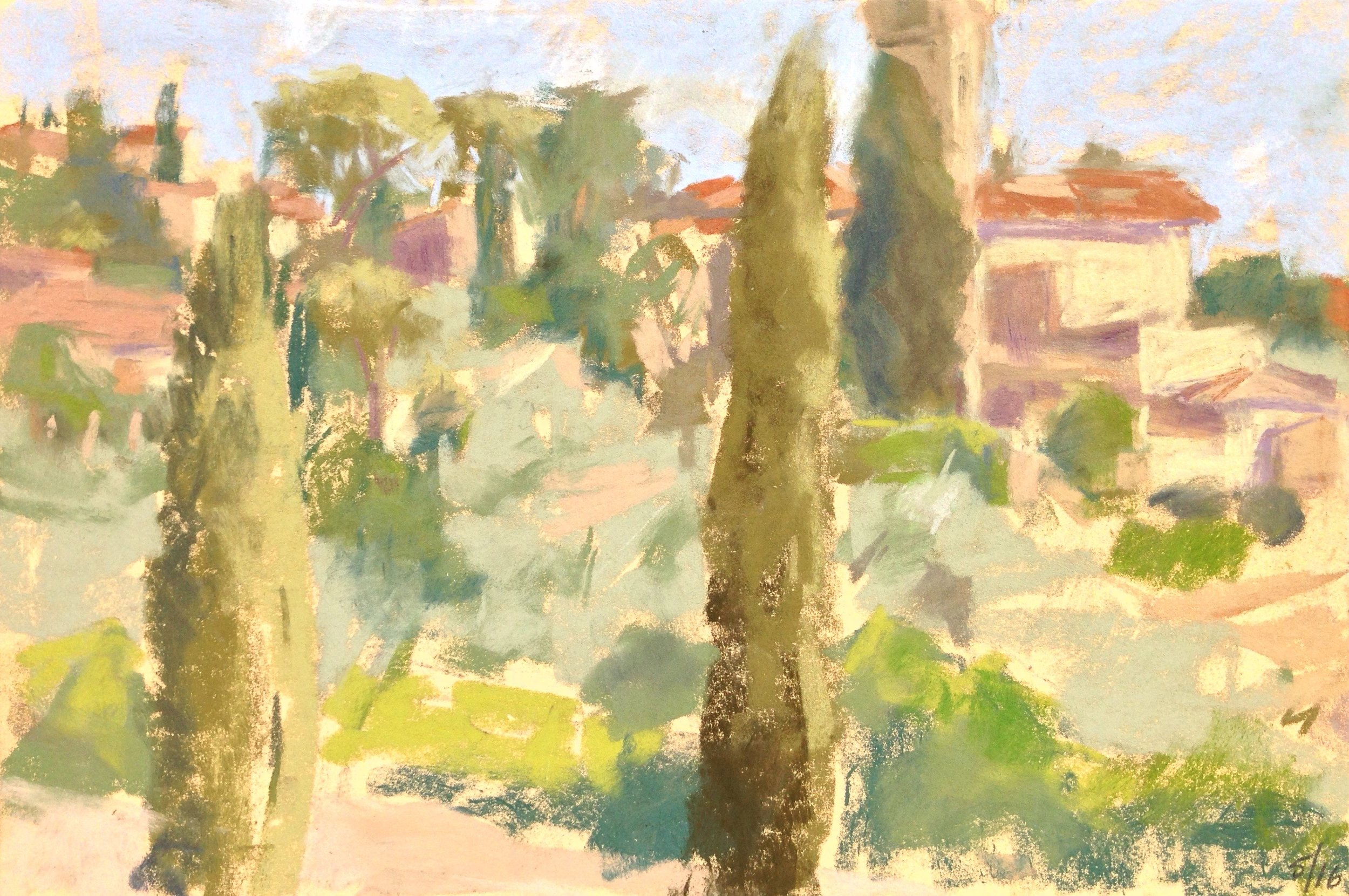 Settignano Hillside, May 16