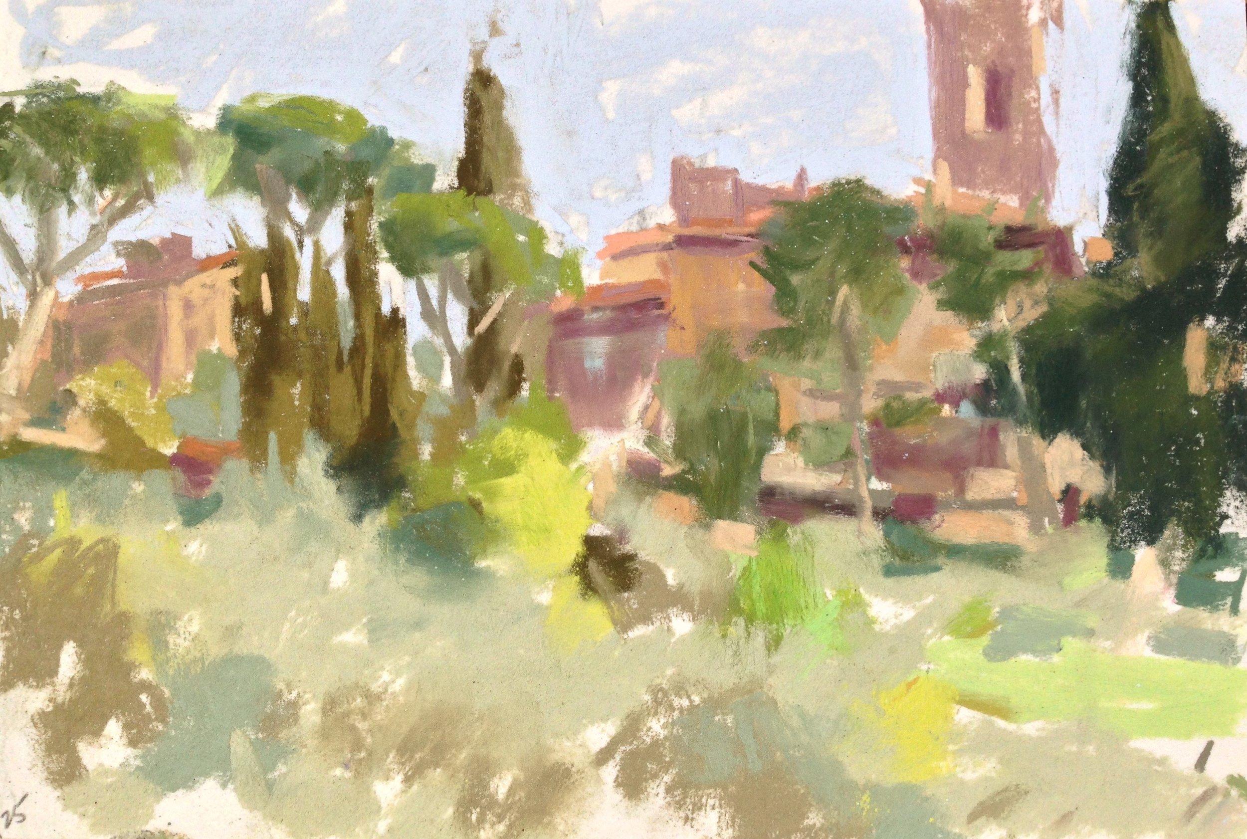 Settignano Hillside, Mar 25