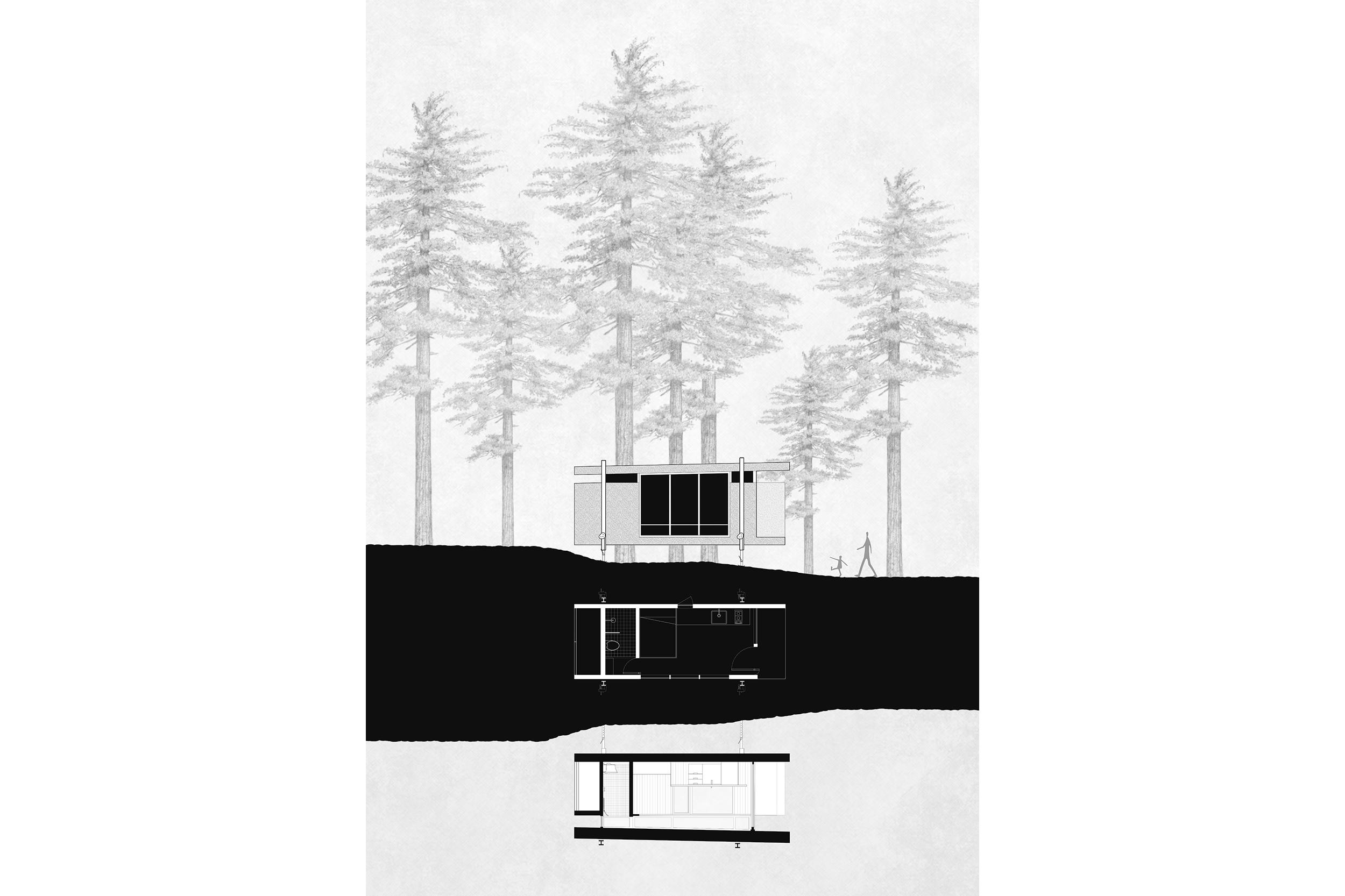 goCstudio_R6 Cabins_Elevation_Plan_Section.jpg
