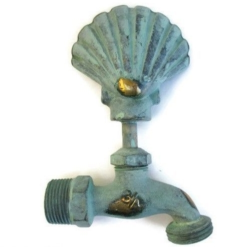 Decorative spigots are a fun way to dress up the yard
