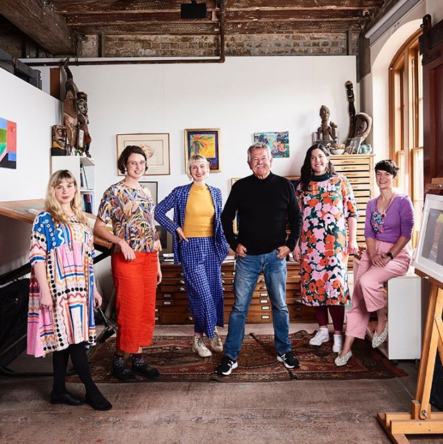 As a part of our exciting day meeting Ken Done, we also got to have photos taken with him and here is the result! It was such a dream come true to visit @kendonegallery with amazing fellow designers Emily Green of @helloemilygreen, Cassie Byrnes of @varietyhour_ and Maylin Evanochko of @mazdevallia_designs.  Thanks a million to @bigdesignmarket!⁣ ⁣-⁣ ⁣The Big Design Mentor Initiative 2019 / © The Big Design Market Sydney / Photo by @evegwilson⁣ ⁣⁣ ⁣⁠.⁠⠀⁣ ⁣.⁠⠀⁣ ⁣.⁠⠀⁣ ⁣#bigdesignmarket #thebigdesignmarket #kendone #thebigdesignmarketmentor #mentorship #smallbusiness  #creativebusiness