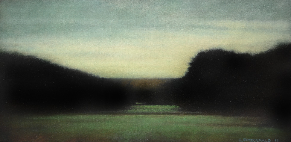 Dream Field  - 15 x 30 - Oil on Canvas