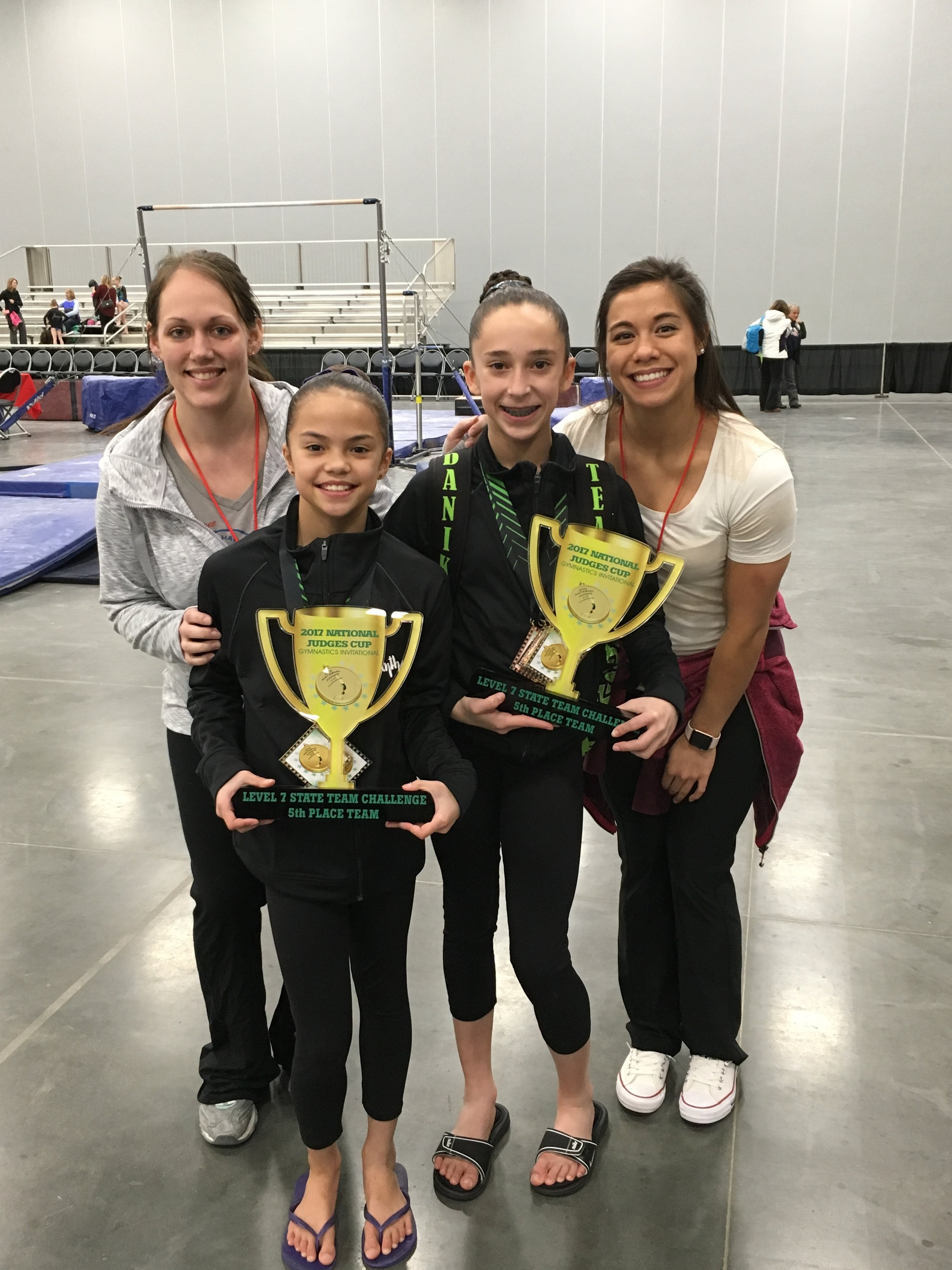 National Judges Cup Gymnasts 2017