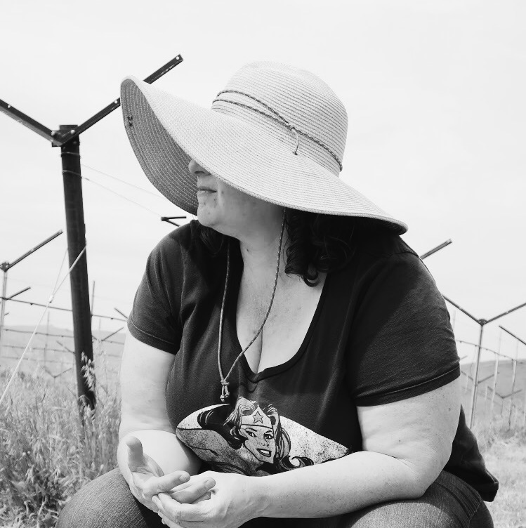 """Debby zygielbaum,Vineyard Farmer - """"I'm harvesting collectively with RedHen because farmers need the resources to grow the high quality grapes that make your lovely wines. By flipping the traditional paradigm, RedHen helps the farmer to get paid, which means we can afford to farm to higher standards, resulting in a better bottle of wine."""""""