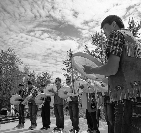 Yellowknife Dene Drummers