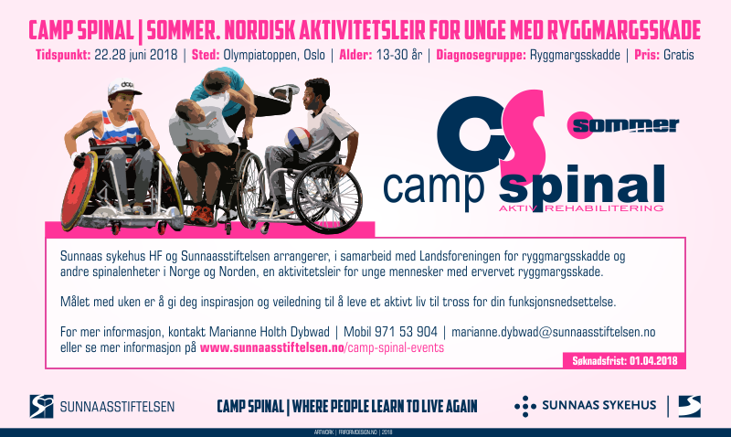Camp Spinal Sommer | Ung