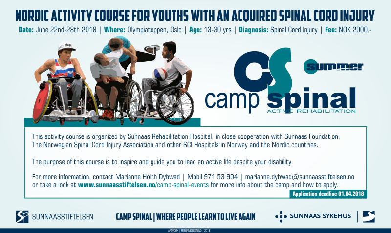 Camp Spinal Summer | Youths