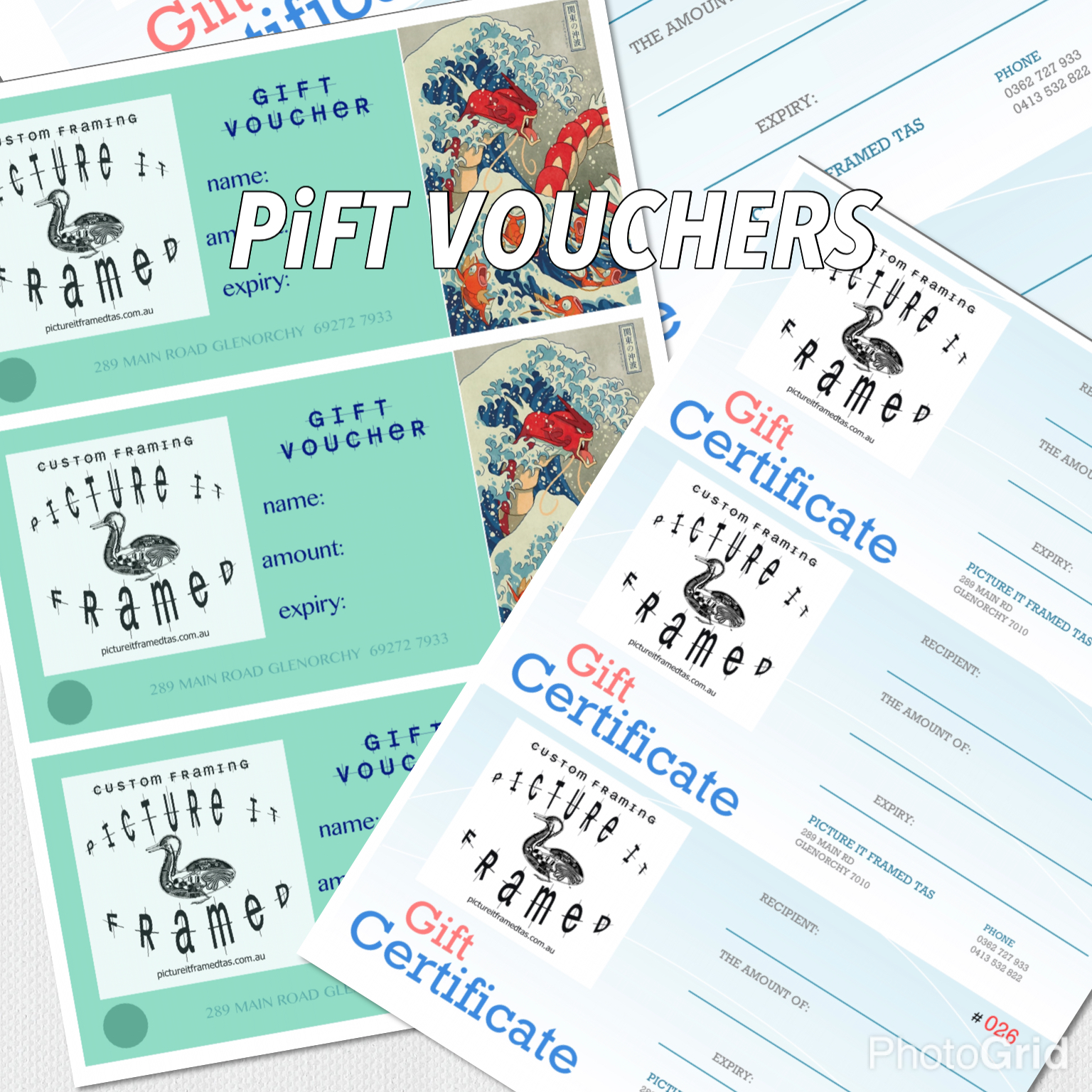 Yes, we have Gift Vouchers for your loved-ones.