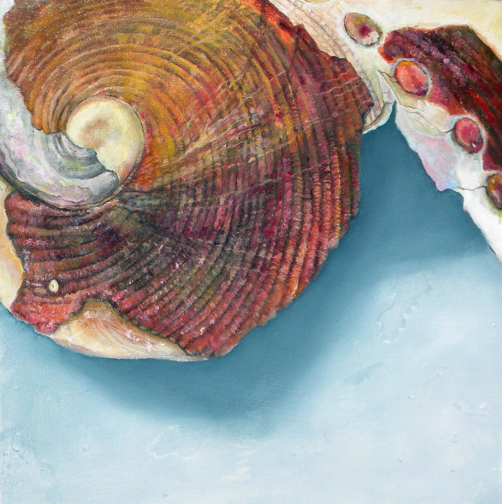 """Esmerelda"" 12""x12"" Oil on Canvas, 2019"