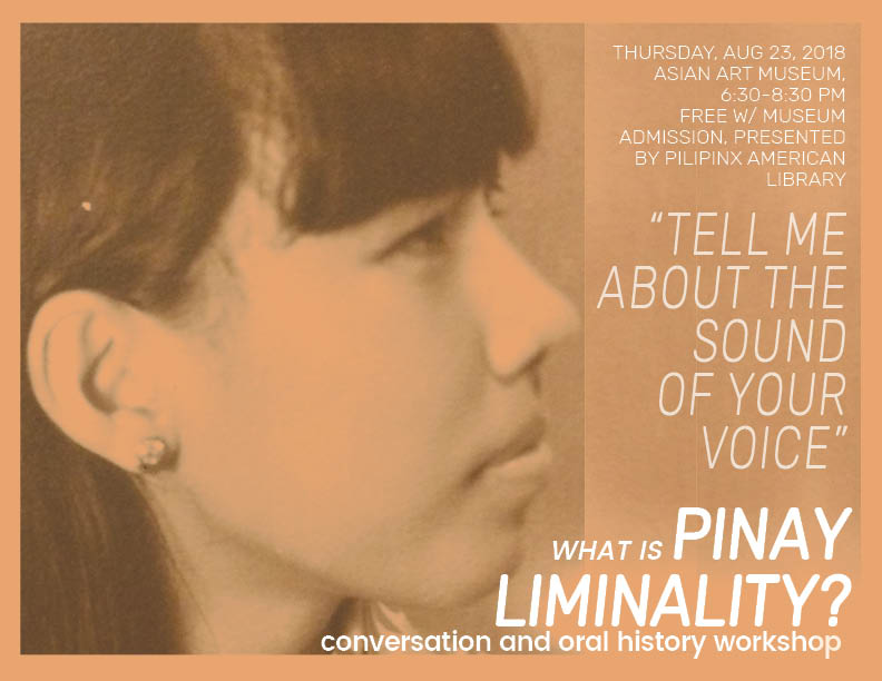 What is Pinay Liminality Event Flyer for August 23, 3018.