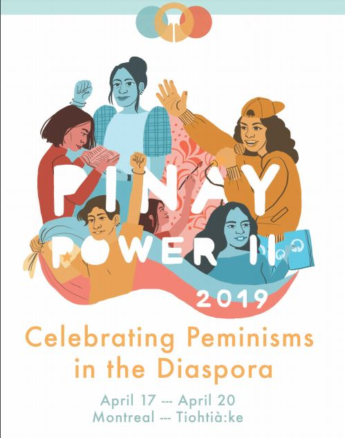 Program Guide for Celebrating Peminisms in the Diaspora Conference at McGill University in Montreal- Pinay Liminality workshop on April 18.