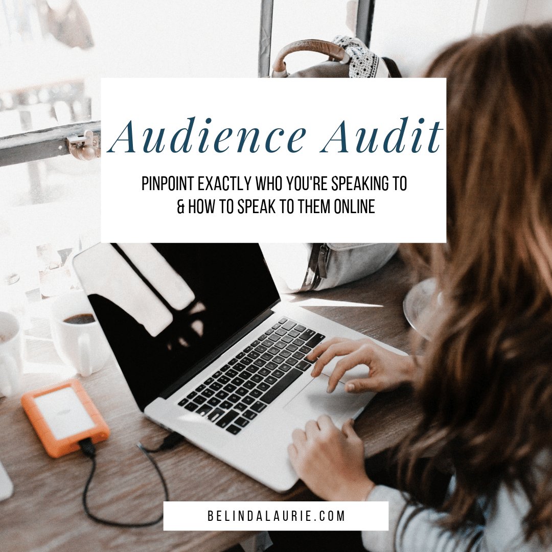 Audience Audit - Know Your Audience Worksheet   Being really specific about who you create content for online will not only make your life easier, it will save you time, streamline your content creation process and make it easier for your ideal customers/clients to find you.
