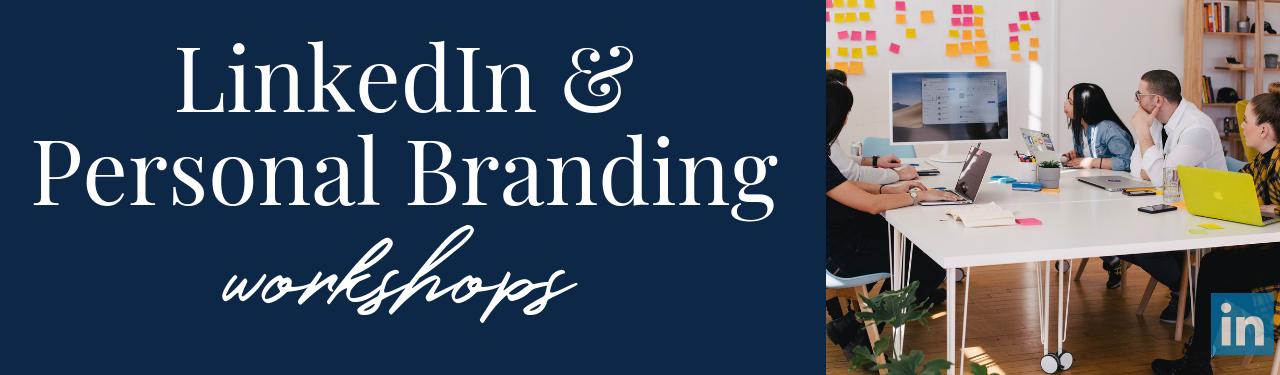Personal Branding Workshops - Belinda Aramide