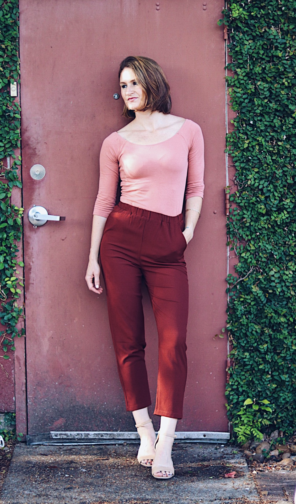 how to style pink and red, styling colors together, pairing pink and red together