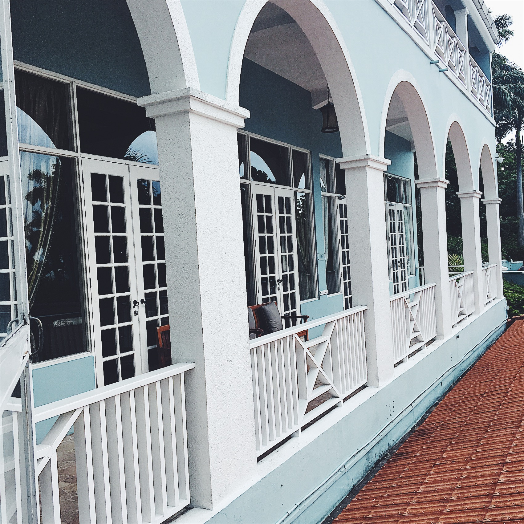 Architecture and pastel colors at resort were beautiful!