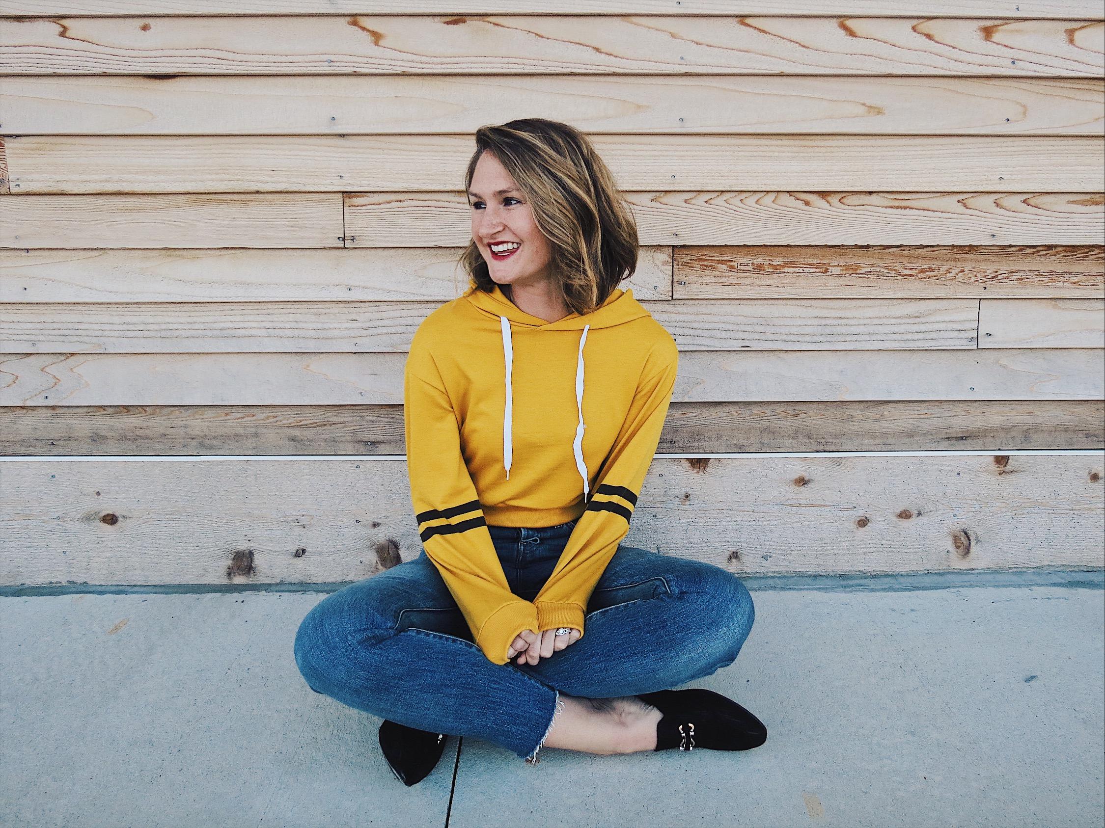cropped sweatshirt | romwe | style | hey jode