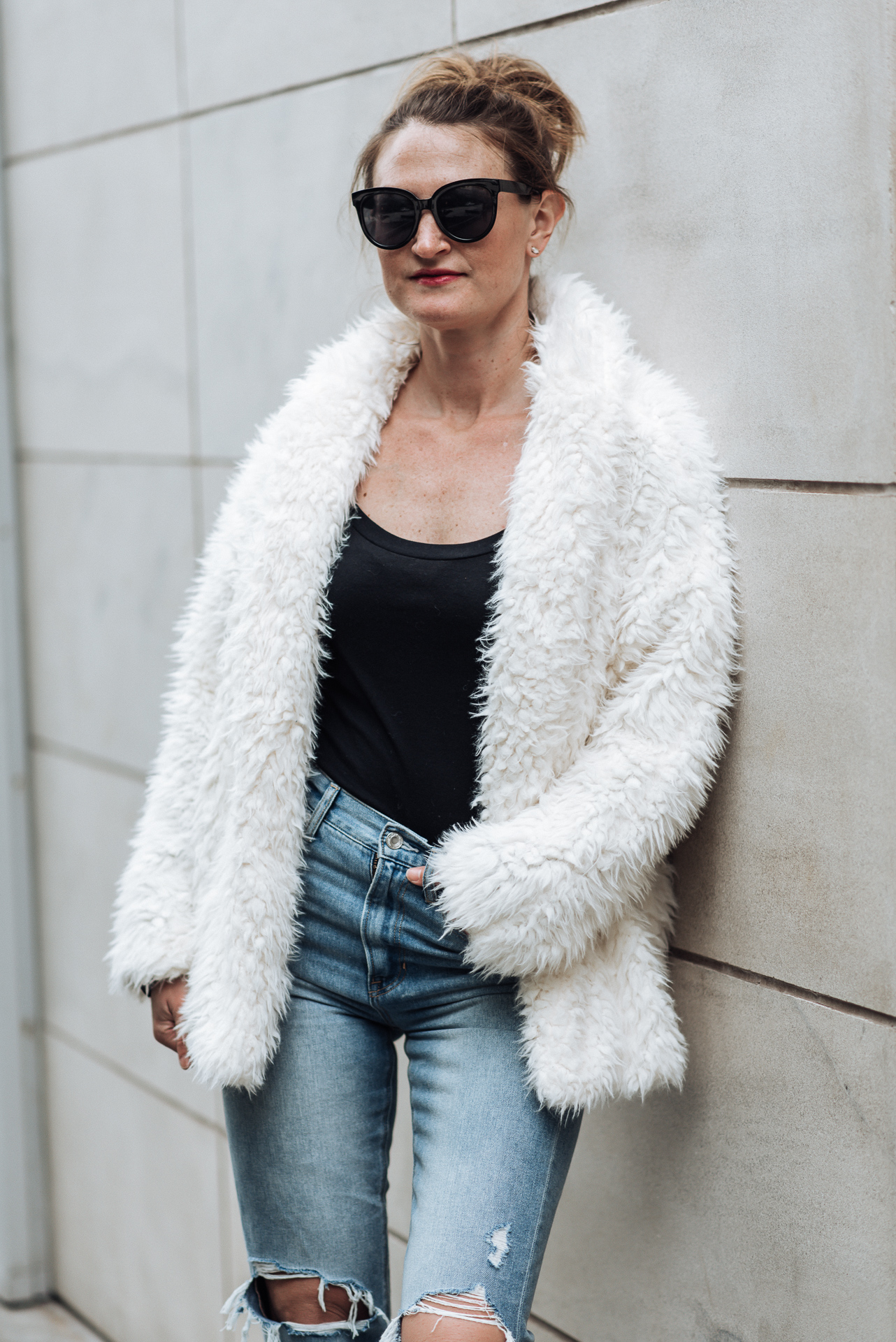 affordable faux fur jacket | romeo and juliet faux fur jacket