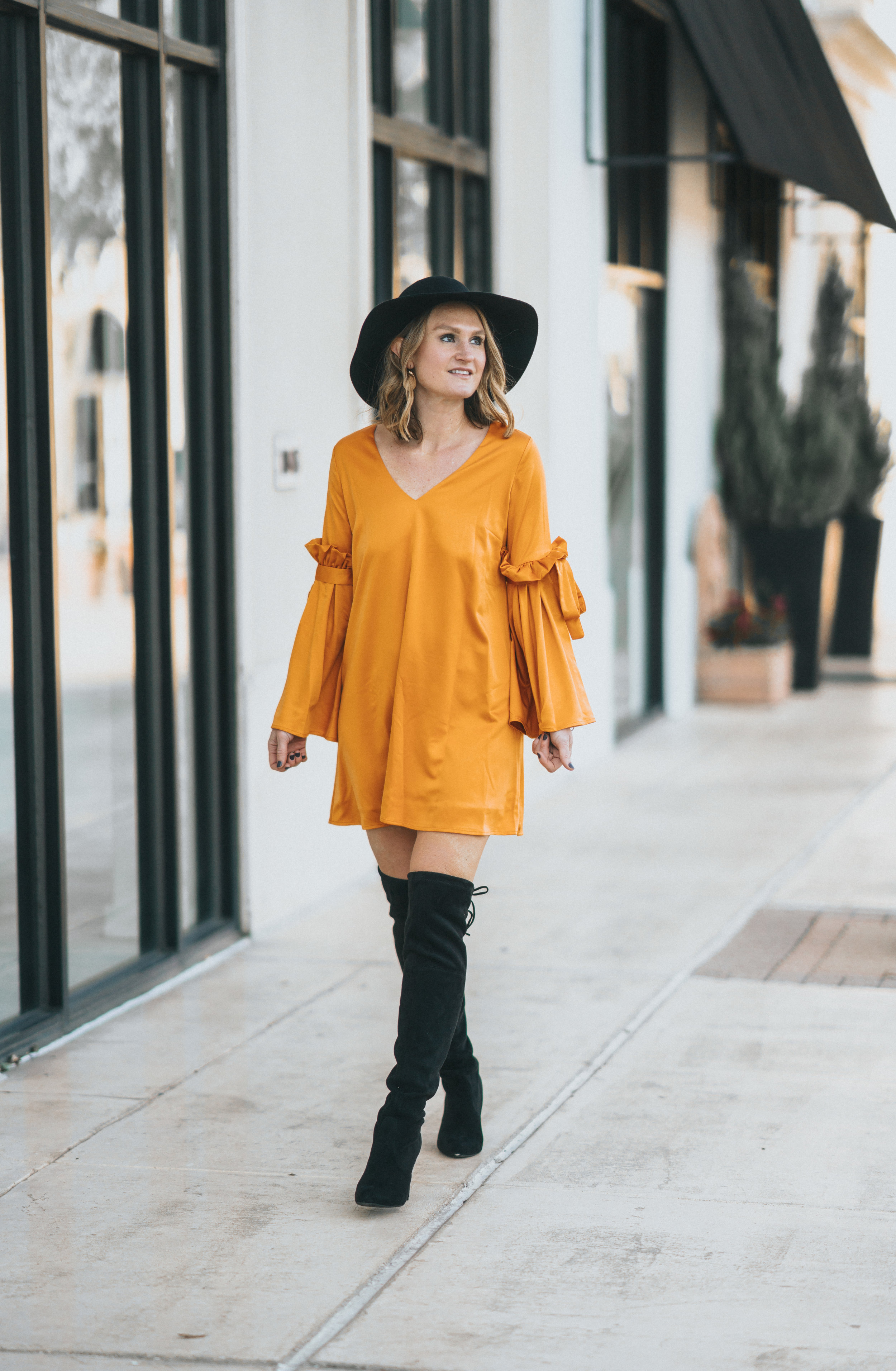 yellow dress trend spring 2018