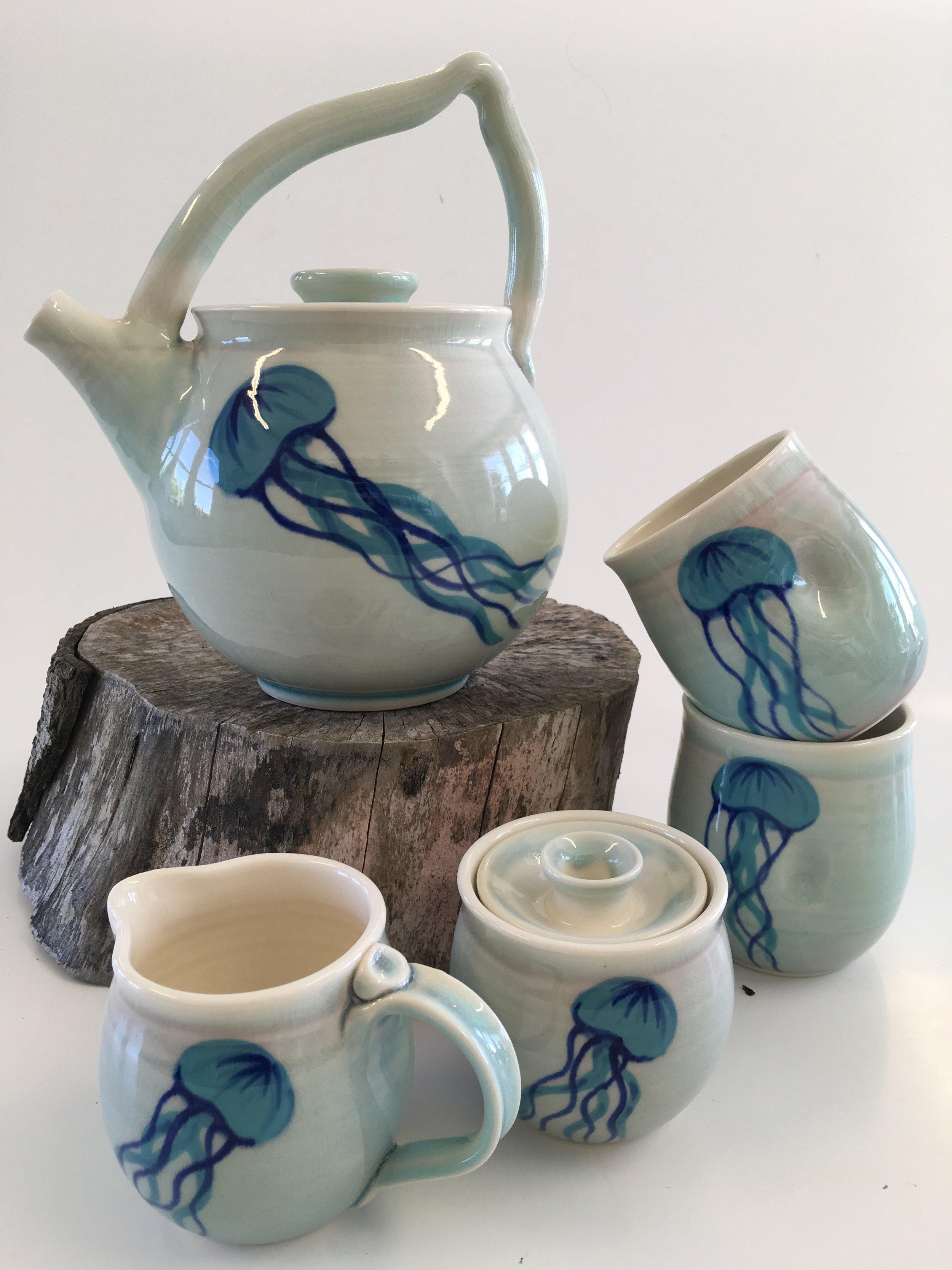 Jelly Fish Tea-Set - Iris Patterson
