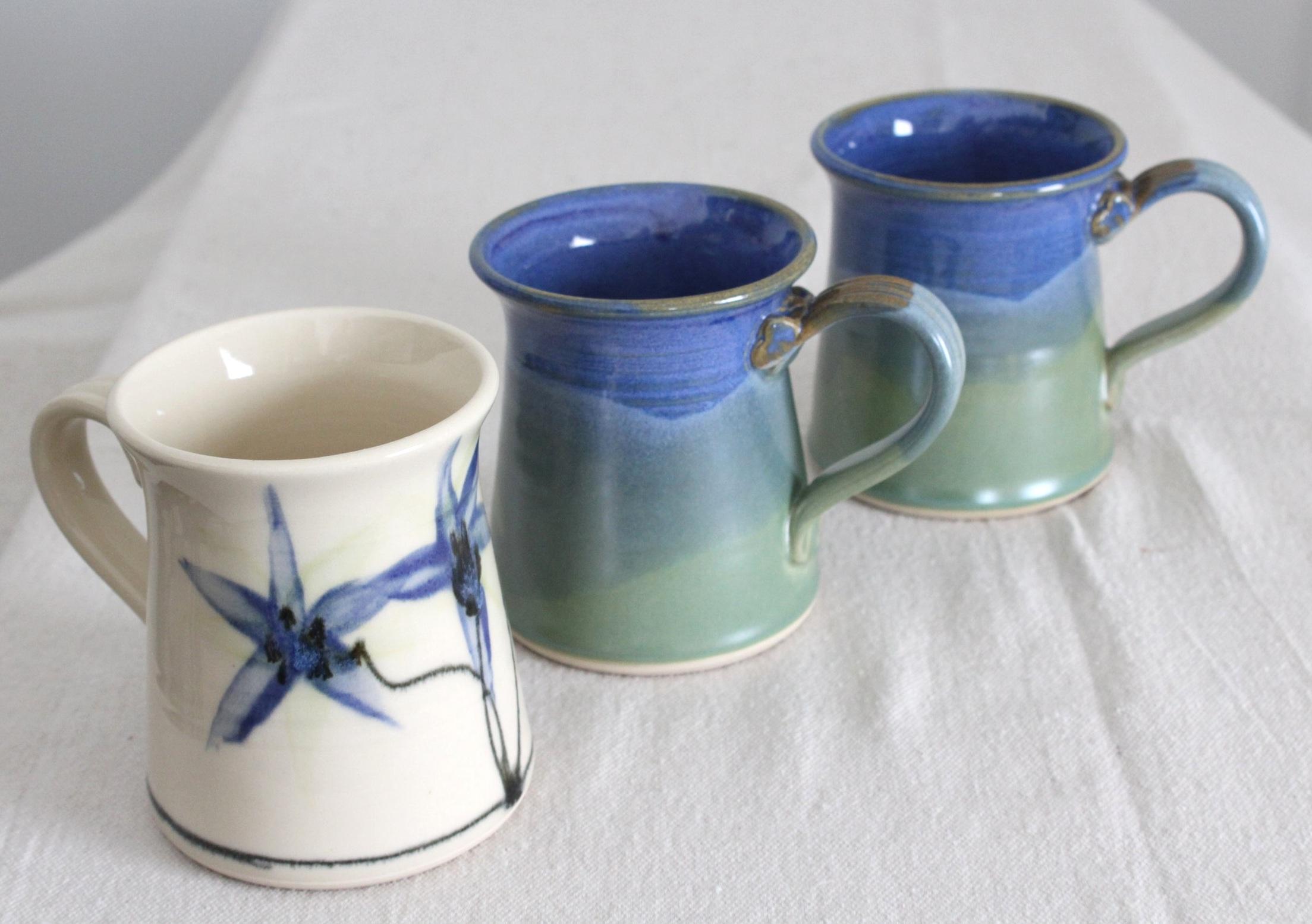 Blue+Flower+and+Double+Dip+Glazed+Mugs.jpg