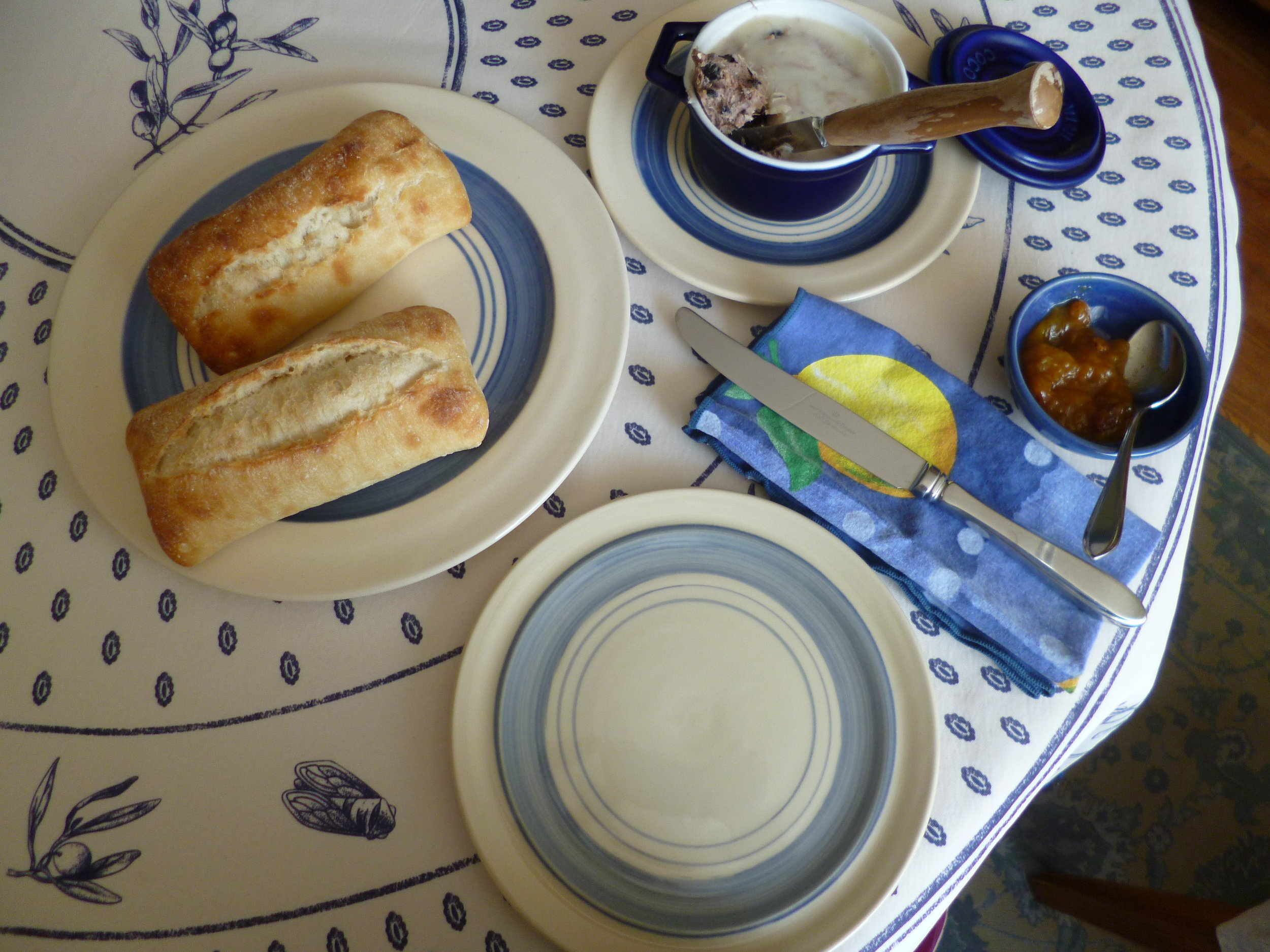 Duck Rillettes for Lunch.JPG