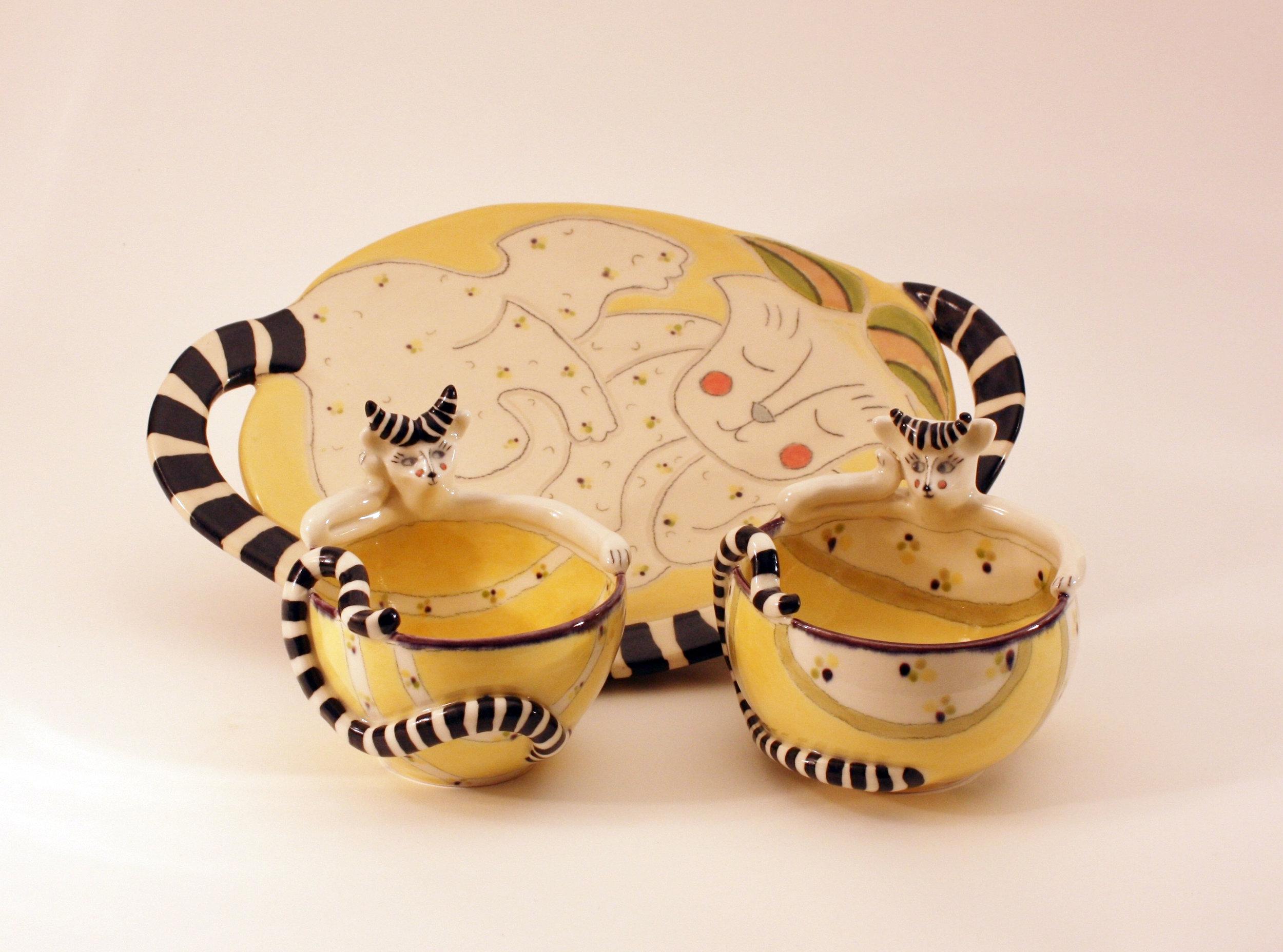 cone 6 white stoneware, stains. 13 inches, Karen Robinson.jpg