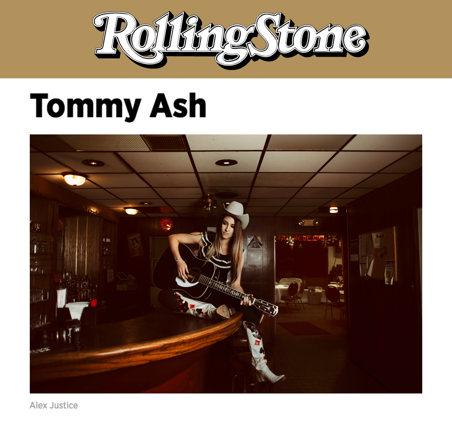 Tommy Ash in Rolling Stone Country - 10 New Artists You Need to Know December 2107.png