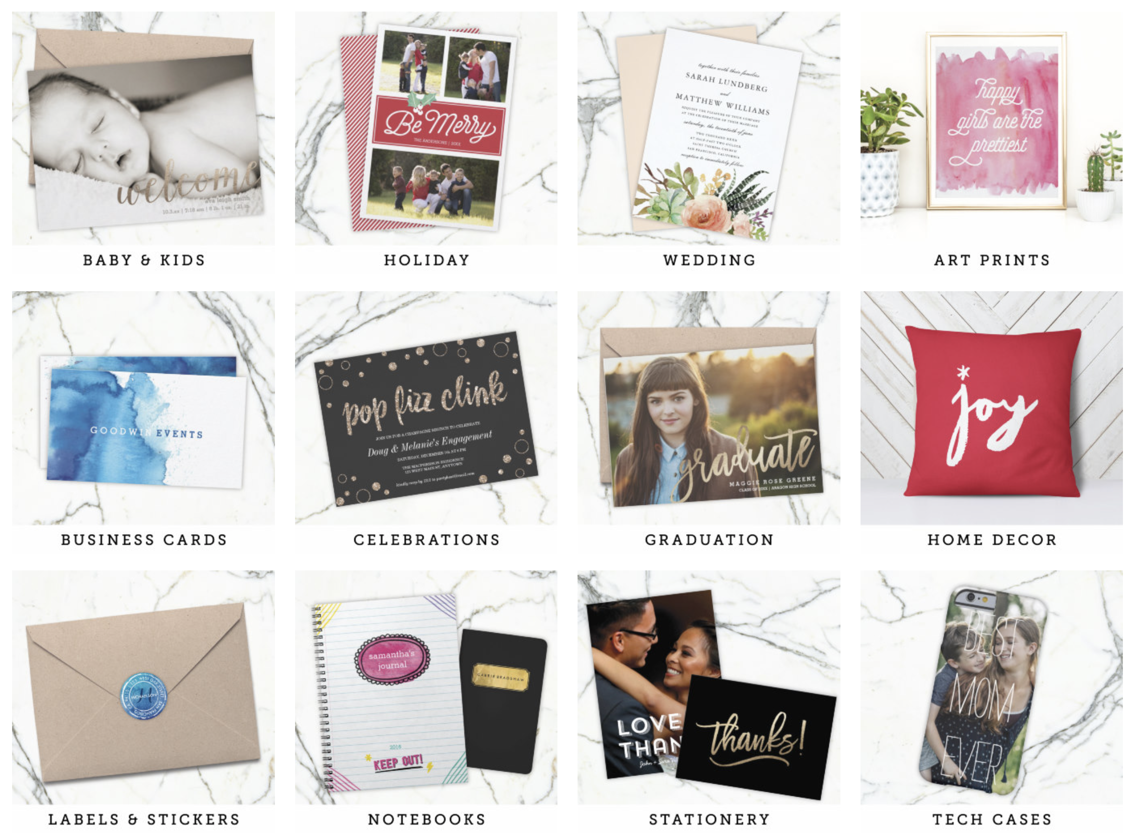 There are hundreds of products available in my Zazzle store… Just click the image above to start shopping!