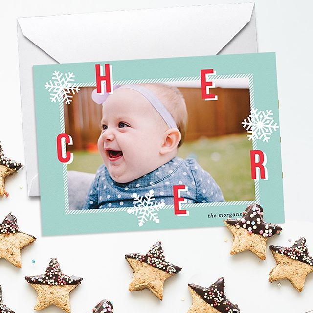 "New ""Sprinkled Cheer"" online holiday card at @greenvelope! Online cards are a great option for many reasons including being eco-friendly. #gvholiday2019 @beijosevents"