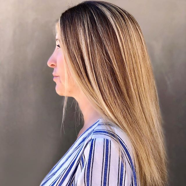 Beautiful warm balayage. I love an Auburn baly. #scottsdalebalayage #scottdalehairstylist