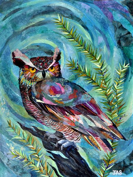 Great-horned Owl  2015