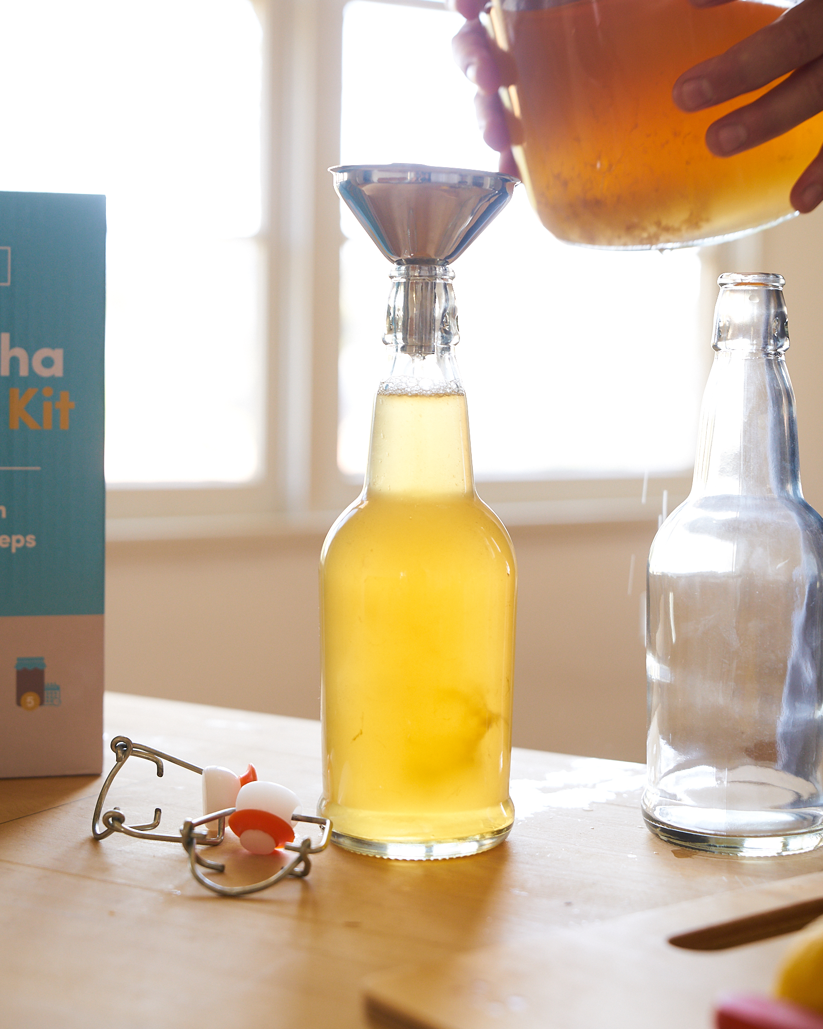 How To Bottle - (Second Fermentation)Bottling Kombucha has provided health enthusiasts a way to make their own health drinks. In this article, we will go over the details on how to transfer your finished brew into bottles, flavoring, and how to get it fizzy.