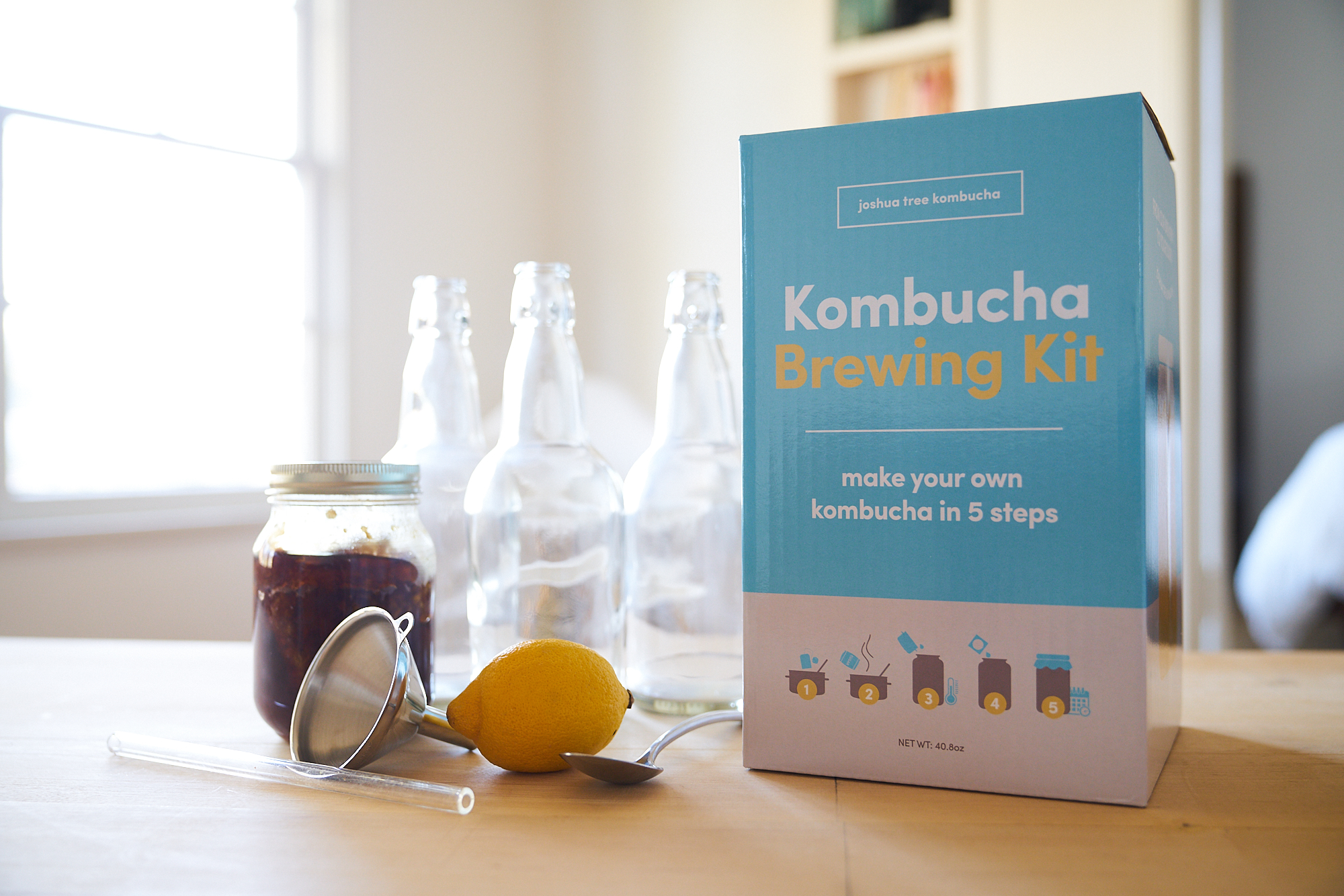 BREW - Everything DIY Kombucha, FAQ, Recipes and more..