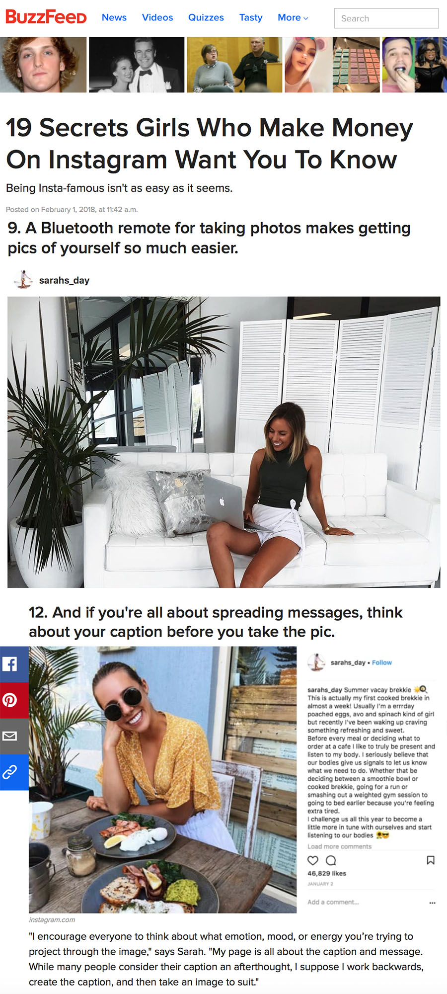 BuzzFeed - The Secrets of Instagram