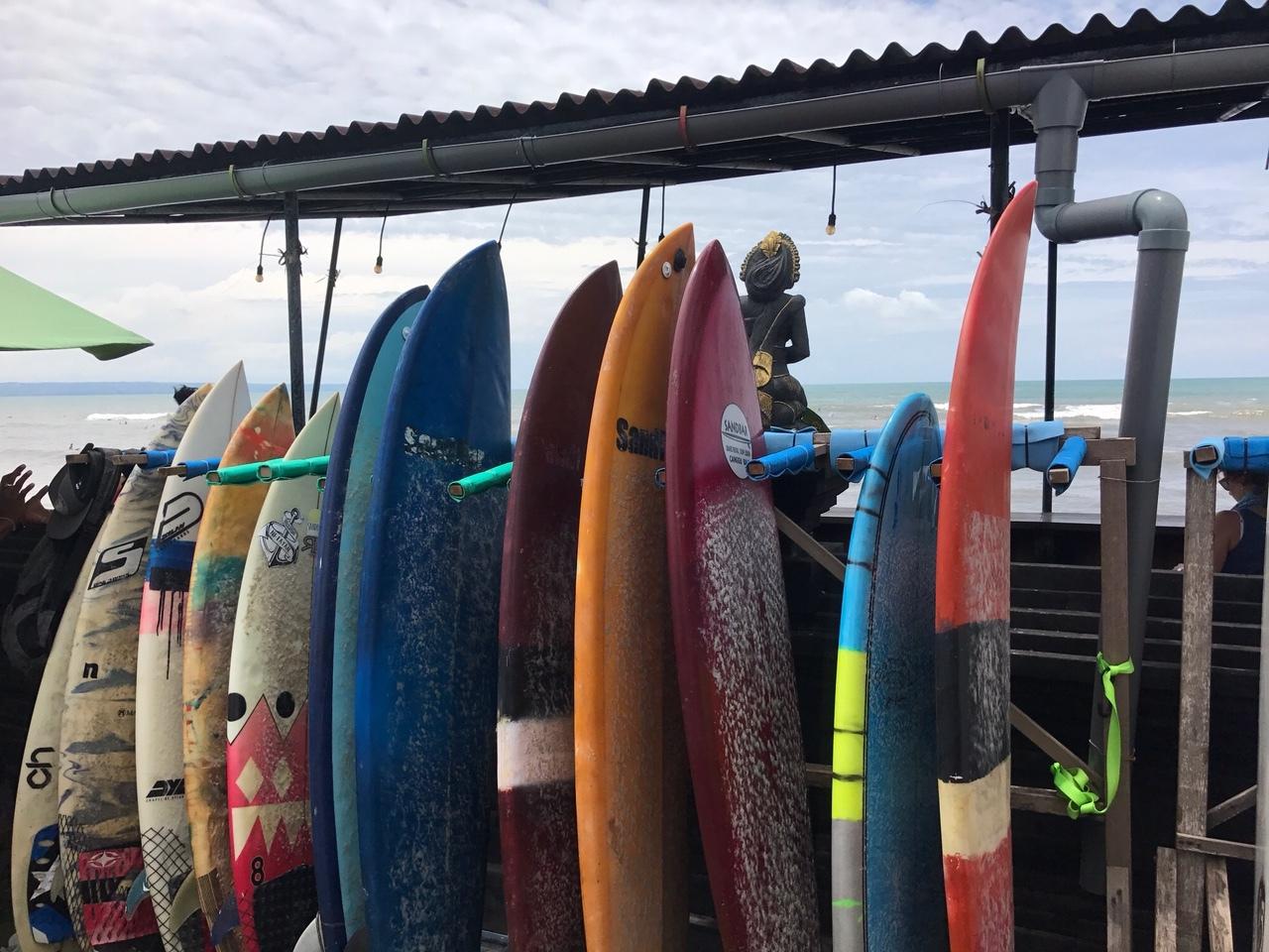 Surf Boards Old Man's Canggu Bali